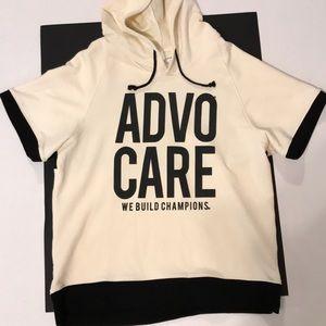 Advocare short sleeve hoodie